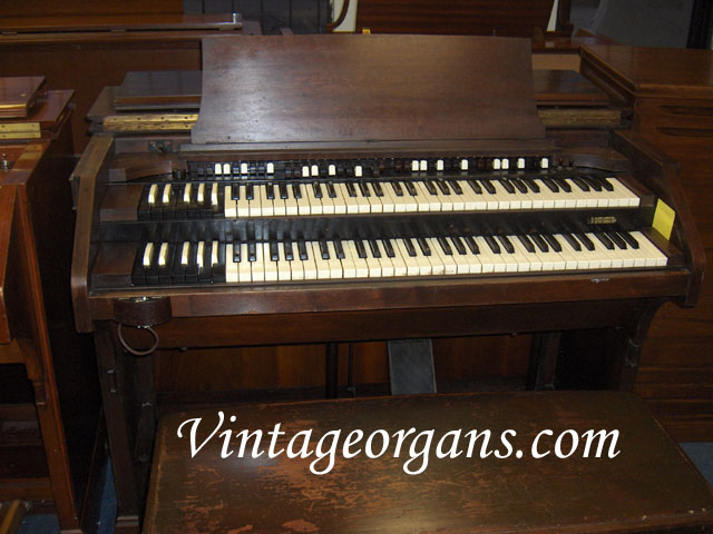 vintage hammond church organs